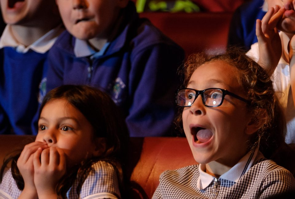 TRB The Egg St Andrews School Kids Reactions 17th May 2019 Photograph